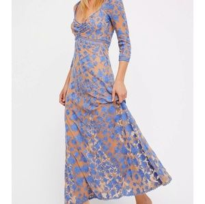 For Love and For Lemons Temecula X Maxi Dress